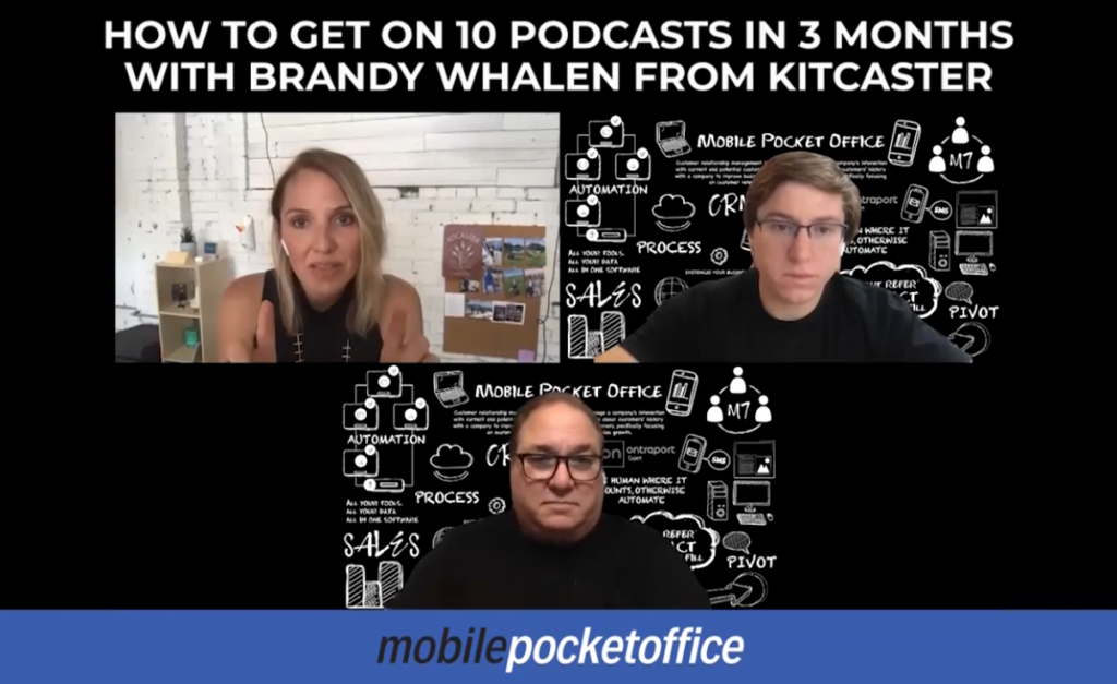 How to get on 10 podcasts in 3 months with Brandy Whalen from Kitcaster