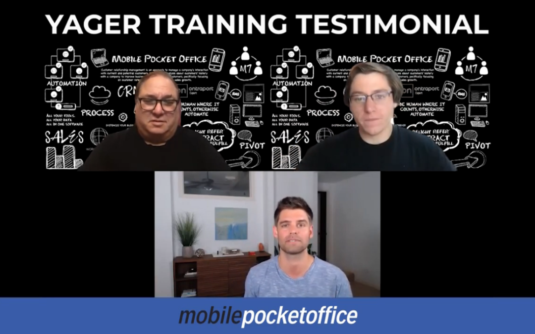 Yager Training Testimonial