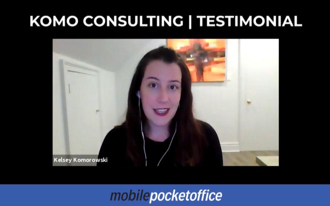 Kelsey Komorowski, Komo Consulting Testimonial